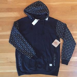 Zumiez Akomplice Black & White Ladies Hoodie